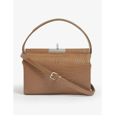 GU DE レディース ショルダーバッグ バッグ Milky mini shoulder bag BEIGE