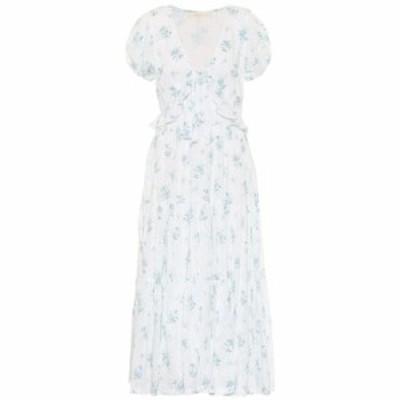 ラブシャックファンシー LoveShackFancy レディース ワンピース ワンピース・ドレス Carlton floral cotton dress White Sun