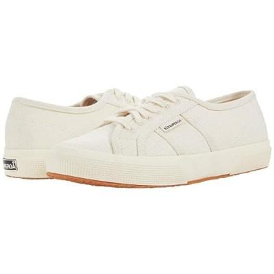 スペルガ 2750 Organic Cotton Hempu Sneaker レディース スニーカー Off-White