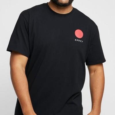 エドウィン メンズ ファッション JAPANESE SUN - Print T-shirt - black