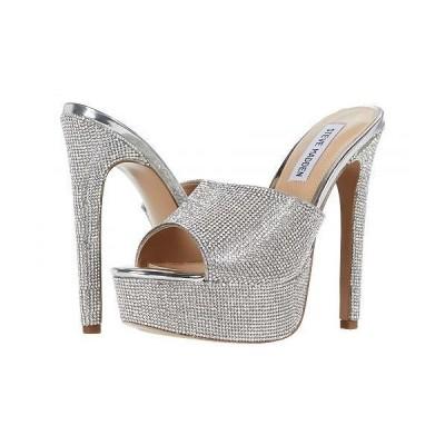 Steve Madden スティーブマデン レディース 女性用 シューズ 靴 ヒール Innocent-R Heeled Sandal - Rhinestone