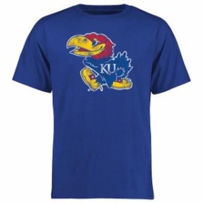 Fanatics Branded ファナティクス ブランド スポーツ用品  Kansas Jayhawks Blue Big & Tall Classic Primary T-Shirt