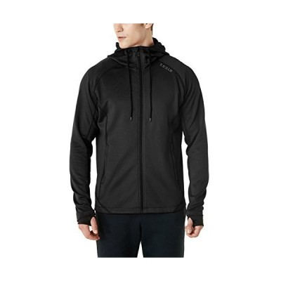 (テスラ)TESLA 長袖 機能性 スウェット ジャケット フード付き ジップアップ パーカー [UVカット・防風] 裏起毛 ランニング メンズMKJ