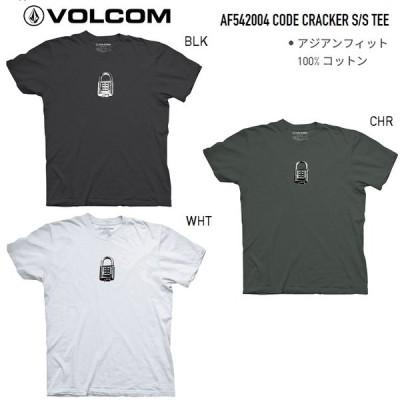 VOLCOM ボルコム 【 CODE CRACKER S/S TEE 】AF542004 【各サイズ】 VOLCOM JAPAN LIMITED 日本限定 Tシャツ シャツ メール便対応