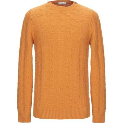 パオロ ペコラ PAOLO PECORA メンズ ニット・セーター トップス sweater Ocher