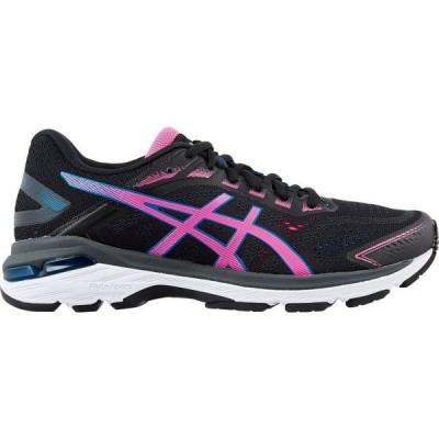 アシックス ASICS レディース ランニング・ウォーキング シューズ・靴 GT 2000 7 Running Shoes Black/Pink/Blue