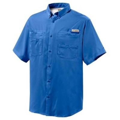 コロンビア メンズ シャツ トップス Columbia Men's Tamiami II SS Shirt Vivid Blue
