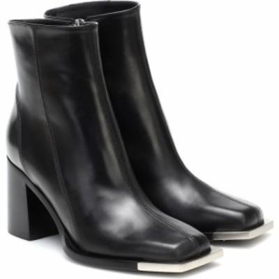 ピーター ドゥ Peter Do レディース ブーツ ショートブーツ シューズ・靴 Leather Ankle Boots Black