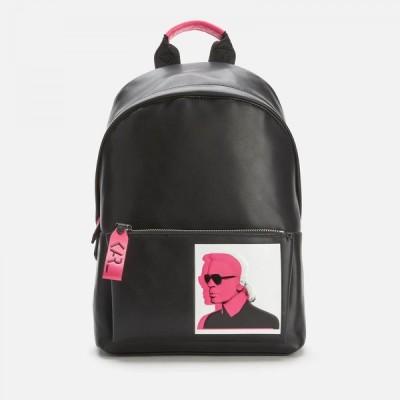 カール ラガーフェルド Karl Lagerfeld レディース バックパック・リュック バッグ Karl Legend Leather Backpack Black