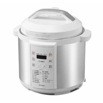 【新品即納】送料無料 アイリスオーヤマ アイリスオーヤマ 電気圧力鍋 6.0L PC-EMA6-W ホワイト