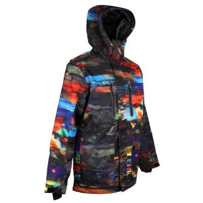 防水フード付きレインジャケットコートSをハイキングプロフェッショナルメンズスキースーツ