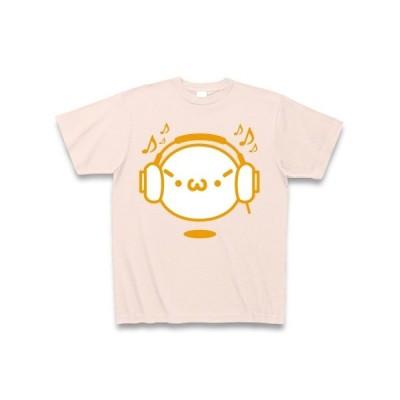 【音楽】シャキーンmusicバージョン2/オレンジ Tシャツ Pure Color Print(ライトピンク)