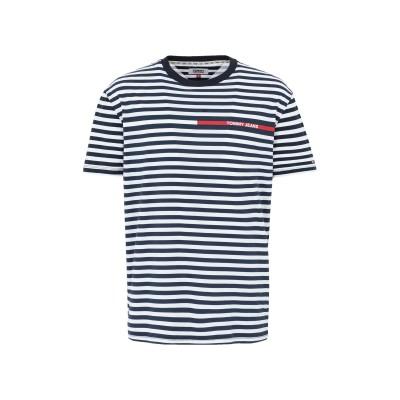 TOMMY JEANS T シャツ ホワイト L コットン 100% T シャツ