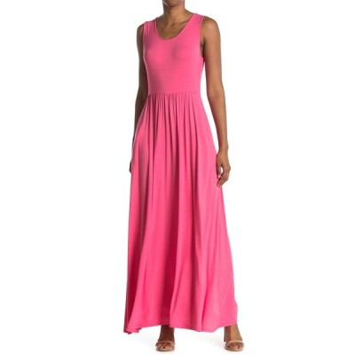 ウエスト ケイ レディース ワンピース トップス Knit Maxi Dress HOT PINK