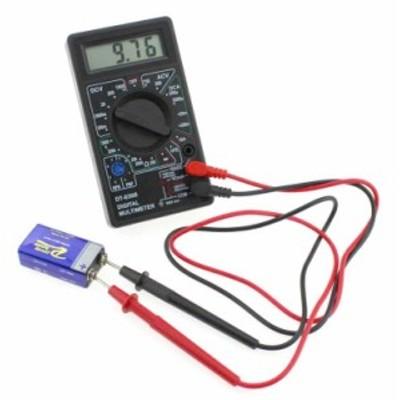 デジタルマルチメーター DC電流 DC/AC電圧 抵抗 コンデンサ トランジスタ DT830BMM