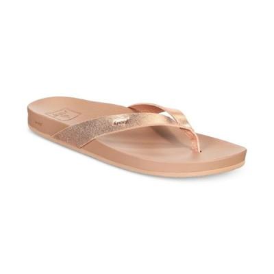 リーフ REEF レディース ビーチサンダル シューズ・靴 Cushion Bounce Court Flip-Flop Sandals Rose Gold
