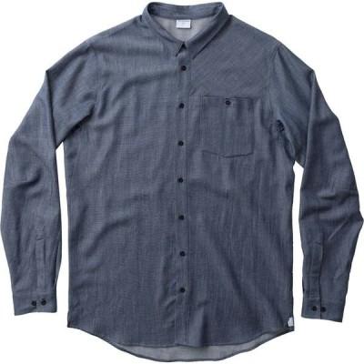 フーディニ シャツ メンズ トップス Out and About Long-Sleeve Shirt - Men's Blue Illusion