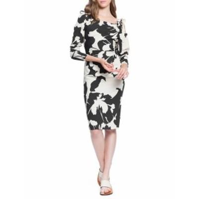 トレイシーリース レディース ワンピース Stretch Crepe Ruched Knee-Length Dress