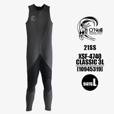 【XSF4740】オニール O'NEILL メンズ ロングジョン ウェットスーツ L  3x2mm HEAT CLASSIC ヒートクラシック バックジップ プロショップ限定 日本製 2021春夏