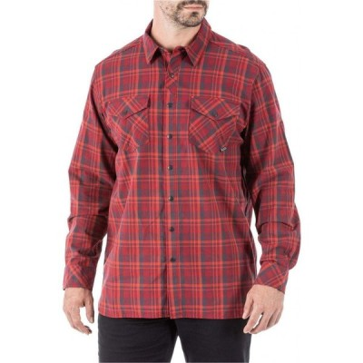 5.11 タクティカル 5.11 Tactical メンズ トップス Peak Long Sleeve Shirt Peacoat Plaid