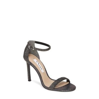 ニナ レディース サンダル シューズ Dayzee Crystal Ankle Strap Sandal BLACK IRID