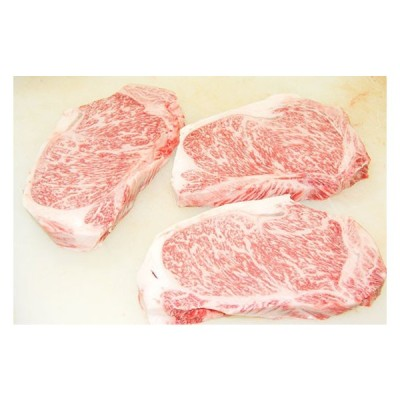 A5・A4北海道産 黒毛和牛ロース 極厚ステーキ 約500g