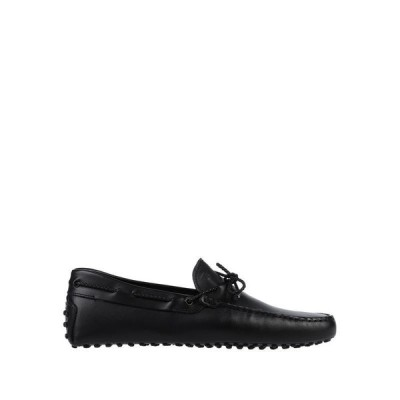 TOD'S トッズ モカシン ファッション  メンズファッション  メンズシューズ、紳士靴  モカシン ブラック