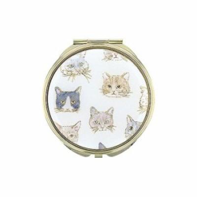 FLOWERING フラワーリング ミラー Cat Face アイボリー GMR0142-IV