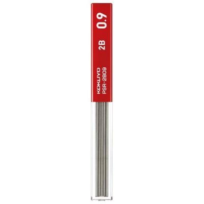 替芯 コクヨ KOKUYO 鉛筆シャープ シャープ替芯 0.9mm 2B PSR-2B09-1P