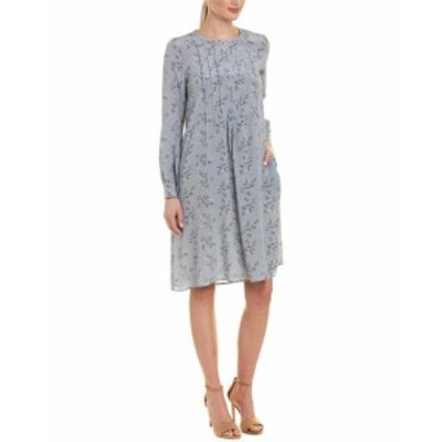 max マックス ファッション ドレス Max Mara Weekend Silk Shift Dress 2 Blue