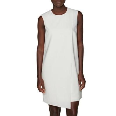 スイスタジオ レディース ワンピース トップス Baylene Asymmetric Paneled Dress OFF WHITE