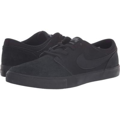 ナイキ Nike SB メンズ スニーカー シューズ・靴 Portmore II Solar Black/Black