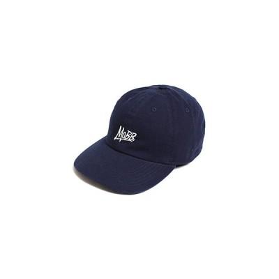 モブ MOBB ロゴ ローキャップ メンズ ユニセックス ネイビー MOBB OG LOW CAP -NAVY-