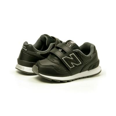 (New Balance/ニューバランス)ニューバランス NewBalance PO313L キッズ スニーカー マジックテープ NB-PO313L/キッズ ブラック