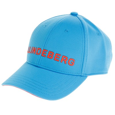 Jリンドバーグキャップロゴキャップ 073-52307-095ブルー