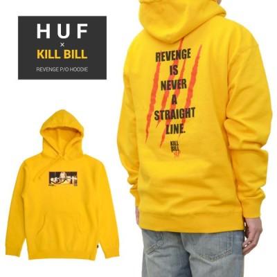 HUF × KILL BILL ハフ × キルビル パーカー REVENGE P/O HOODIE フリース スウェット PF00405