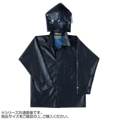 弘進ゴム ロン軽快衣 新頭巾付 (C) 黒 3L G0508AJ