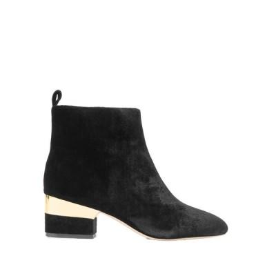 ISA TAPIA ショートブーツ ファッション  レディースファッション  レディースシューズ  ブーツ  その他ブーツ ブラック