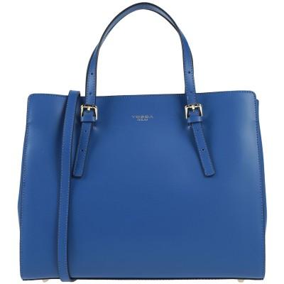 トスカブルー TOSCA BLU ハンドバッグ ブルー なめし革 ハンドバッグ