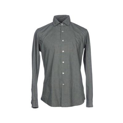 LIU •JO MAN シャツ グリーン 38 コットン 100% シャツ