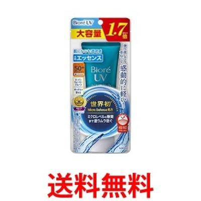 大容量 ビオレUV アクアリッチ ウォータリエッセンス 85g 通常品の1.7倍 日焼け止め SPF50+/PA++++ 送料無料