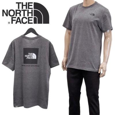 ザノースフェイス THE NORTH FACE Tシャツ 半袖 NF0A2TX2 S/S RED BOX TEE-JBV TNF MEDIUM GREY HEATHER