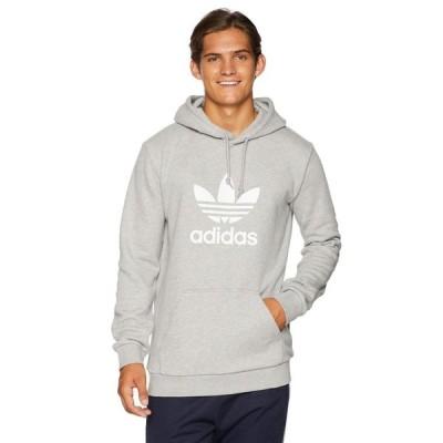 アディダス adidas Originals メンズ パーカー トップス Trefoil Hoodie Medium Grey Heather