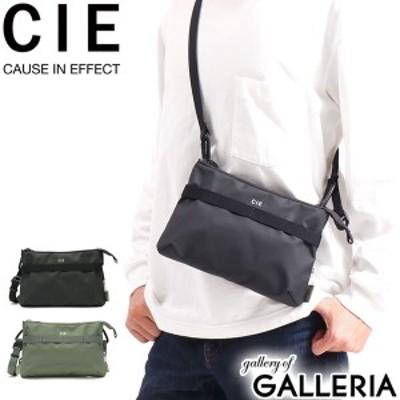 【商品レビューで+5%】CIE サコッシュ シー ショルダーバッグ GRID3 グリッド3 MINI SHOULDER BAG 防水 撥水 日本製 メンズ レディース
