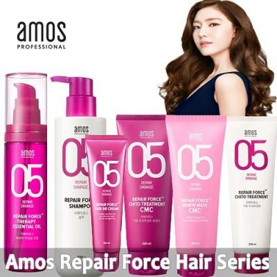 「アモス」リペアフォースシリーズ / シャンプー / BB / トリートメント / オイル / ヘアケア AMOS REPAIR FORCE HAIR