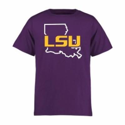 Fanatics Branded ファナティクス ブランド スポーツ用品  LSU Tigers Youth Purple Tradition State T-Shirt
