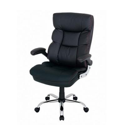 椅子 勉強 椅子 学習 椅子 ゲーム用 ビジネス オフィス ドウシシャ マネージャーチェア ペテル  ブラック BMC-BK