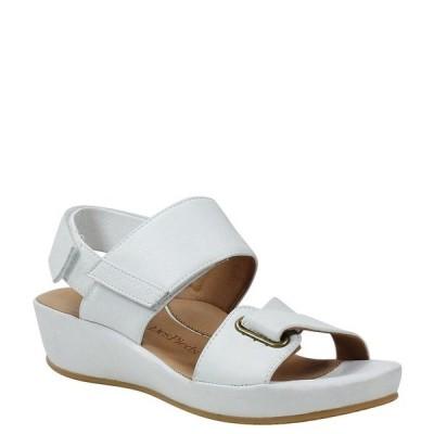ラモールドピード レディース サンダル シューズ Calantha Leather Sandals White Lamba