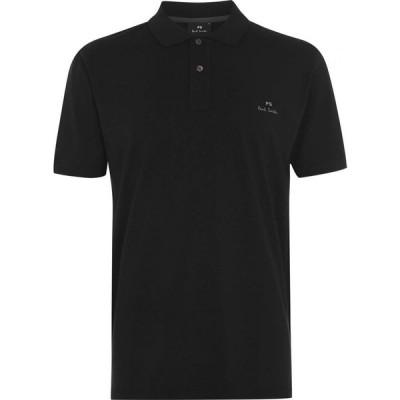 ポールスミス PS by Paul Smith メンズ ポロシャツ トップス Mercerised Polo Shirt Black