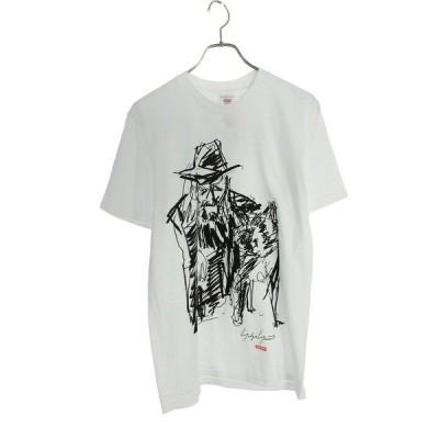 シュプリーム SUPREME ヨウジヤマモト 20AW Scribble Portrait Tee サイズ:S ポートレートプリントTシャツ 中古 OM10